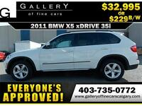 2011 BMW X5 xDrive35i $299 bi-weekly APPLY NOW DRIVE NOW