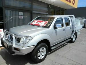 2008 Nissan Navara D40 ST-X (4x4) Silver 5 Speed Automatic Dual Cab Pick-up West Hindmarsh Charles Sturt Area Preview