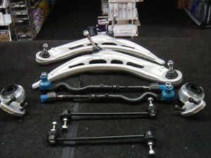 BMW  3 SER E46 318CI 328CI 320D LOWER SUSPENSION WISHBONE ARMS KIT COMPLETE NEW