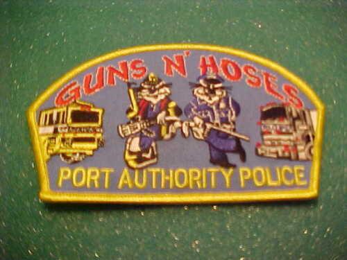 GUNS N HOSES PORT AUTHORITY SHOULDER PATCH