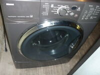 KENMORE FRONT LOAD WASHER, GREY COLOR
