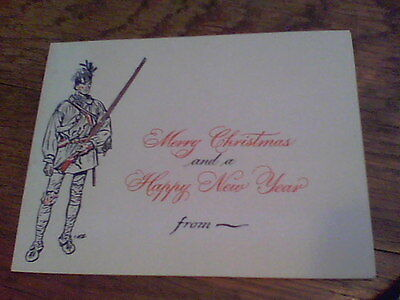 Merry Christmas and a Happy New Year card from Lee Wallace 1954? Military (Happy New Year And Merry Christmas Cards)