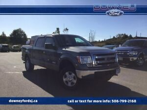 2013 Ford F-150 4X4 SUPERCREW 300A TOW PKGE ECO BOOST SUPERCREW