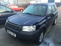 Land Rover Freelander 2003 Massai Mara 1.8L (Blue)