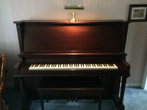 Gerhard Heintzman Upright PIANO - 100 years old