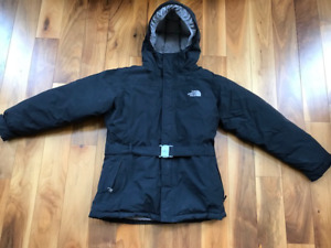 North Face Black Winter Coat girls size 18