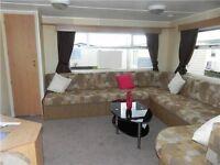 VERY CHEAP STARTER caravan for sale near whitley bay northeast coast sandy bay fantastic facilities