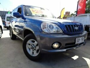 2002 Hyundai Terracan HP Blue 4 Speed Automatic Wagon