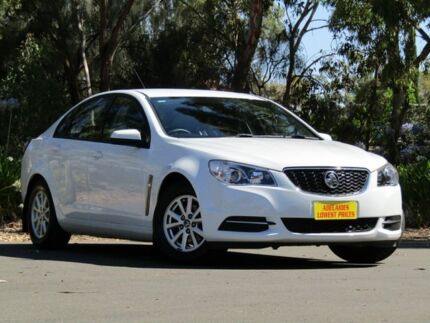 2016 Holden Commodore VF II MY16 Evoke White 6 Speed Sports Automatic Sedan Melrose Park Mitcham Area Preview