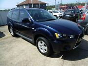 2011 Mitsubishi Outlander ZH MY11 LS (FWD) Dark Blue 6 Speed CVT Auto Sequential Wagon Five Dock Canada Bay Area Preview