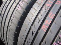 215/55/16 Dunlop SP Sport Fast Response, XL x2 A Pair, 6.0mm (454 Barking Rd, Plaistow, E13 8HJ)