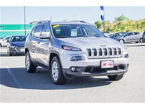 2016 Jeep Cherokee! 4X4! HEATED SEATS! REMOTE START! LOW KMS
