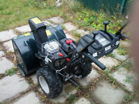 "Yardworks 30"", 305cc 10.5 HP, 2-Stage Snowblower, almost new."