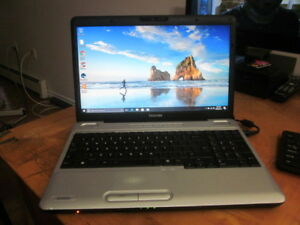 "15.6""  core2duo  Toshiba L500 laptop"