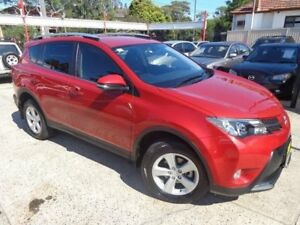 2014 Toyota RAV4 ASA44R MY14 Upgrade GXL (4x4) Wildfire 6 Speed Automatic Wagon Sylvania Sutherland Area Preview