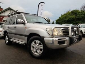 2005 Toyota Landcruiser UZJ100R Upgrade GXL (4x4) Silver 5 Speed Automatic Wagon Mount Hawthorn Vincent Area Preview