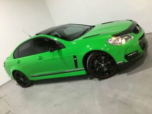 2017 Holden Commodore VF II MY17 Motorsport Edition Green 6 Speed Manual Sedan