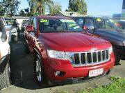 2011 Jeep Grand Cherokee WK MY2012 Laredo Red 5 Speed Sports Automatic Wagon Lawnton Pine Rivers Area Preview
