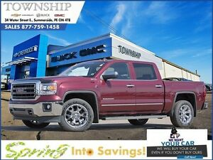 2014 GMC Sierra 1500 SLT - $21/Day - 5.3L V8 - Leather - Crew Ca