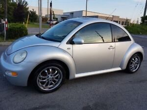 2003 Volkswagen New Beetle GLX, LEATHER, SUNROOF, TURBOCHARGED