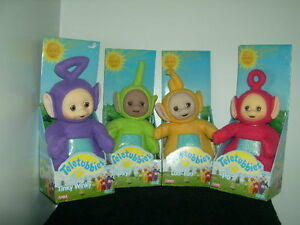 TELETUBBIES 1998 MINT SET OF 4