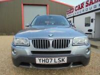 2007 07 BMW X3 2.5 D SE 5D AUTO 215 BHP DIESEL