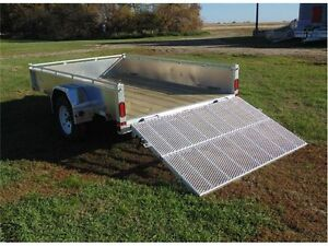 WANTED TO BUY: USED ALUMINUM UTILITY TRAILER