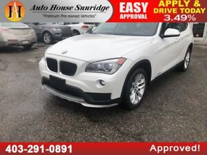 2015 BMW X1 XDRIVE 28i LOW KMS! PANORAMIC ROOF