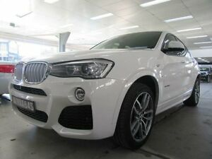 2015 BMW X4 F26 MY15 xDrive 30D White 8 Speed Automatic Coupe Fyshwick South Canberra Preview