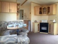 SPACIOUS 8 BERTH FAMILY HOLIDAY HOME STATIC CARVAN READY NOW WITH PITCH FEES - REDUCED ESSEX COAST