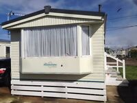 8 Berth static caravan for sale sited on golden gate holiday centre in Towyn, North Wales, 35ftx12ft