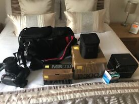 Nikon Camera; Lens and Accessories Bundle