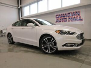 2018 Ford Fusion TITANIUM AWD, ROOF, LEATHER, LOADED, 27K!