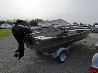 2016 LUND 1648 MODIFIED VEE w/SIDE CONSOLE