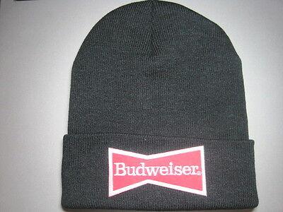 BUDWEISER BEER BOWTIE BEANIE BEANNIE CAP LOOK & BUY IT NOW! GREAT GIFT ITEM!!!