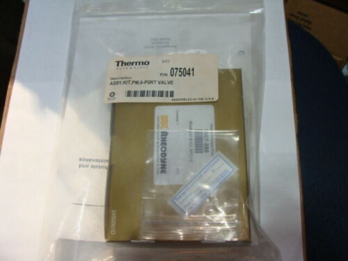 Thermo ASSY,KIT,PM,6-P0RT VALVE P/N 075041