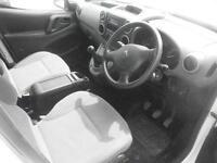 Peugeot Partner L2 716 S 1.6 Hdi 92 Crew Van DIESEL MANUAL WHITE (2015)