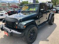 2012 Jeep Wrangler Unlimited Sahara BLUETOOTH 2 TOPS..PERFECT.