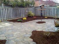 Interlocking stone work and landscaping free estimates