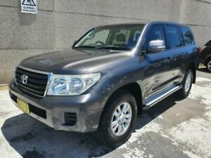 2012 Toyota Landcruiser VDJ200R 09 Upgrade GXL (4x4) Grey 6 Speed Automatic Wagon Revesby Bankstown Area Preview