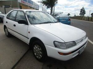1996 Toyota Corolla AE101R CSi Seca White 4 Speed Automatic Liftback Laverton Wyndham Area Preview