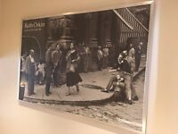"""Ruth Orkin """"American Girl In Italy"""" framed poster"""