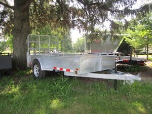 Canada Trailer 5x10 Galvanized Trailer
