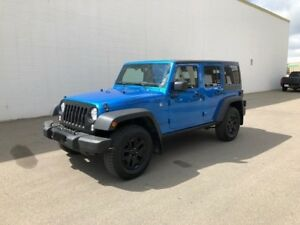 2016 Jeep Wrangler Unlimited Willys Whe