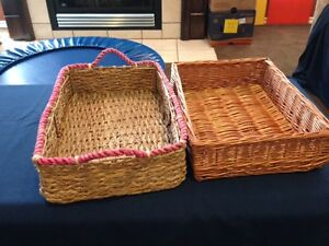 2 Large baskets 2 for $7 - or $4 each