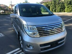 2005 Nissan Elgrand E51 Highway Star Silver Automatic Wagon Five Dock Canada Bay Area Preview