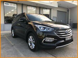 2016 Hyundai Santa Fe DM Series II (DM3) Elite CRDi (4x4) Black 6 Speed Automatic Wagon Blacktown Blacktown Area Preview