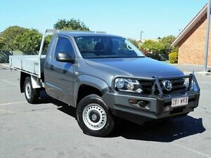 2012 Volkswagen Amarok 2H MY12.5 TDI400 4Mot Grey 6 Speed Manual Cab Chassis Chermside Brisbane North East Preview
