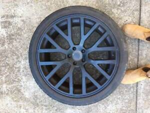 4 x 22 Inch Black Rims to suit Range Rover Sport or similar Glenhaven The Hills District Preview
