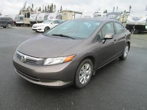 2012 Honda Civic Sdn LX